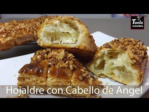 Cañas de Hojaldre con Cabello de Ángel y almendras, un postre rápido y fácil | #TonioCocina 232 - YouTube
