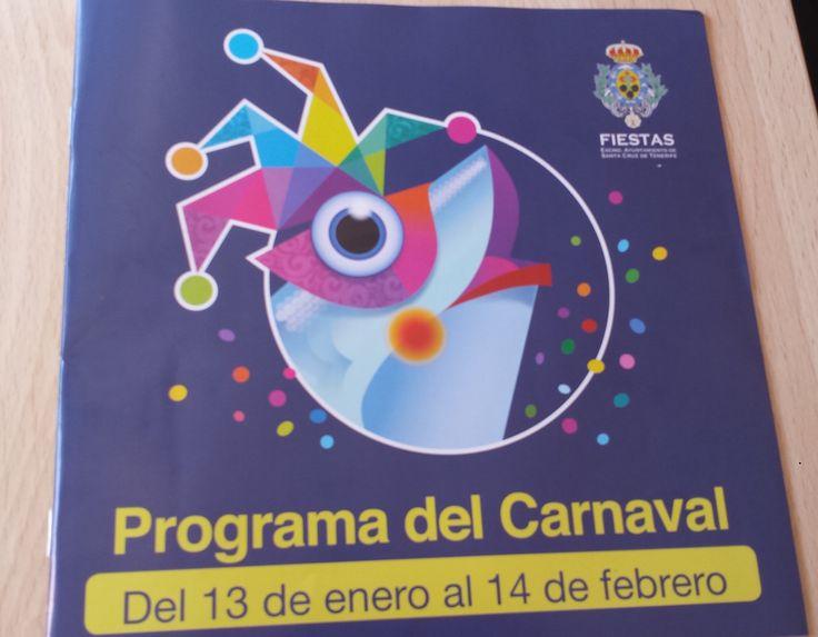 Programa del Carnaval de Tenerife, año 2016