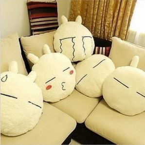 Tuzki pillow cushion rabbit