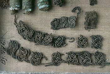 Textile Fragments Viking Uppland