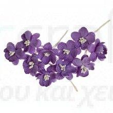 Άνθη κερασιάς 10τεμ Purple