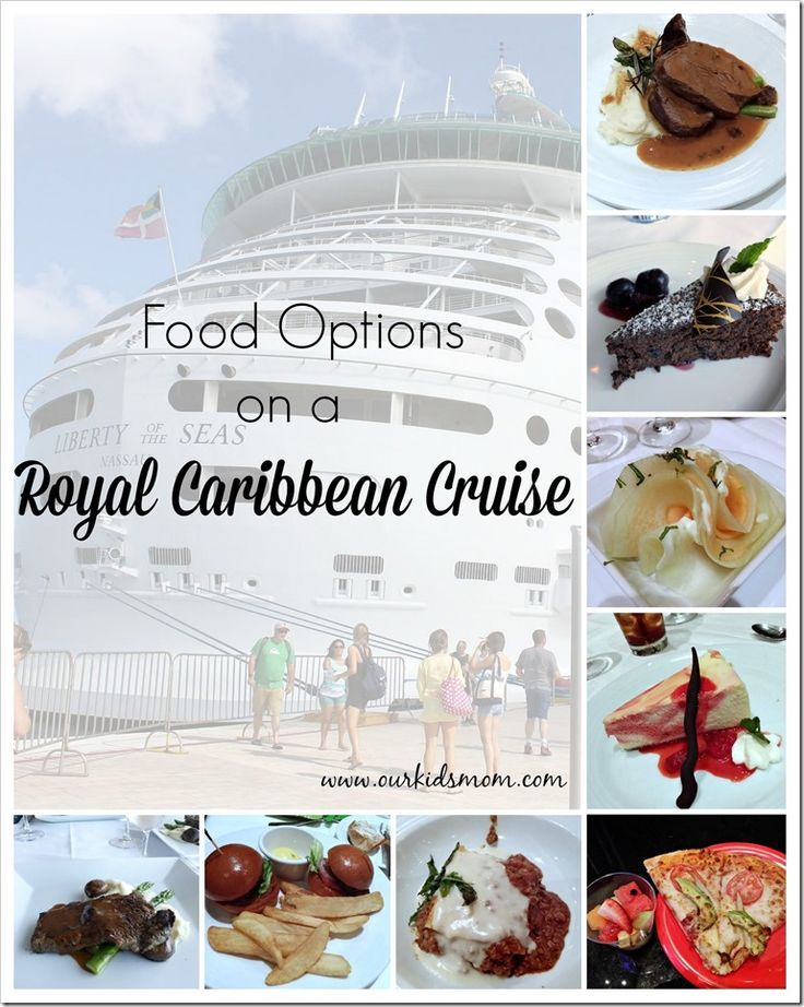 Food Options on a Royal Caribbean Cruise | Liberty of the Seas
