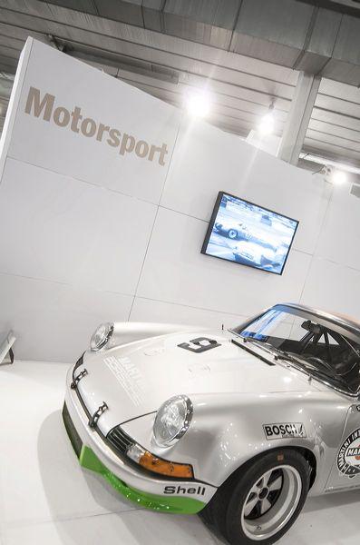 Allo stand Porsche la 911 RSR del Museo di Stoccarda