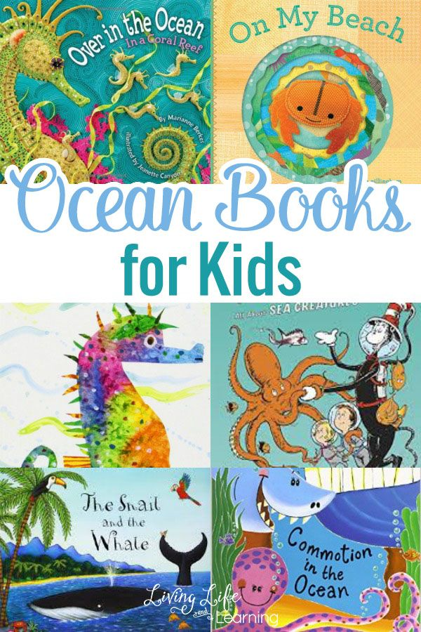 We always include books to not only entertain us with fascinating facts, but we also look to expand out knowledge on the vast space filled with water and its amazing creatures! In this post, we will list a fun group of ocean books for kids. They will really enjoy them!