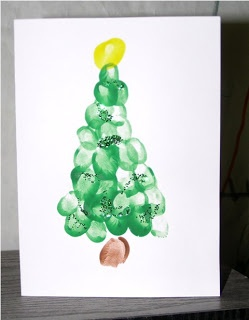 My Favorite Things: Handpainted Christmas Cards