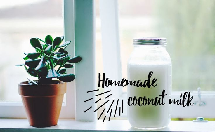 Super Easy Recipe 'How To Make Coconut Milk at Home  + Video!