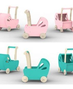 Moover Line Dolls Pram Rose Pink  $79.95  www.sweetcreations.com.au #sweetcreations #child #kids #parents #baby #toys #feedingtime #playtime #parenting #pregnancy