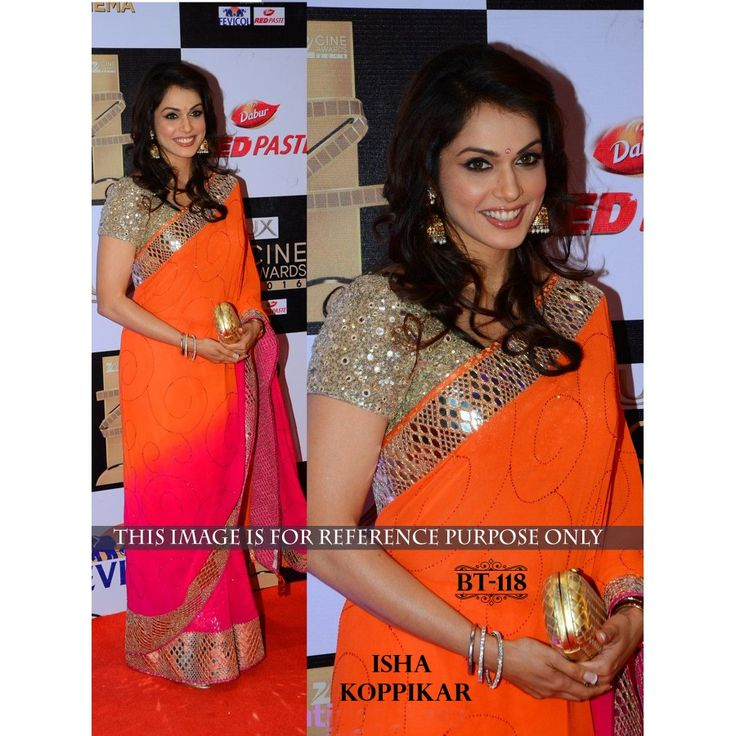 Amazing Orange Sequence 60 Gm Georgette Pedding Saree with Blouse  Shop this amazing style Salwar Suit for just Rs.1900/- only on www.vendorvilla.com Cash on Delivery, Easy Returns, Lowest Price