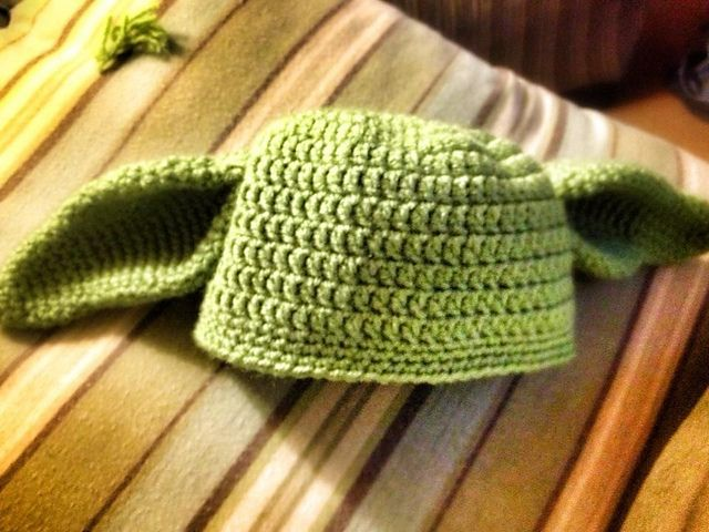 Free Crochet Pattern Yoda Hat Pakbit For