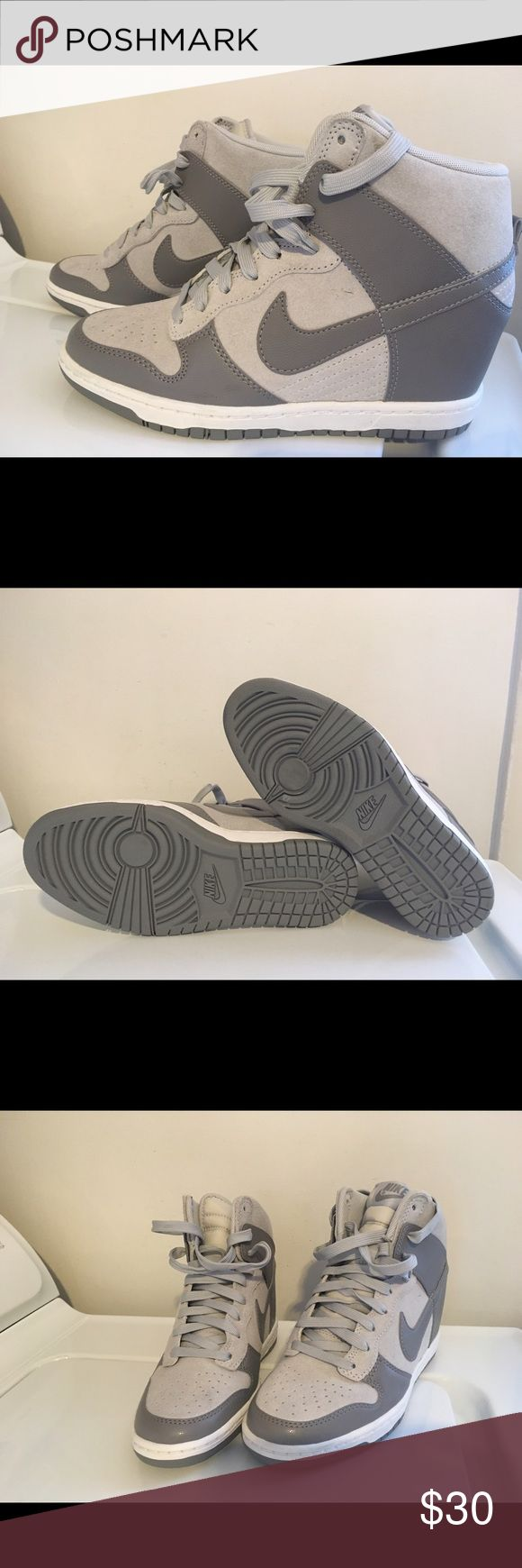 Women's Nike wedge tennis shoes NWOT.  Never worn.  Have been packed away and do not fit me. Nike Shoes Athletic Shoes