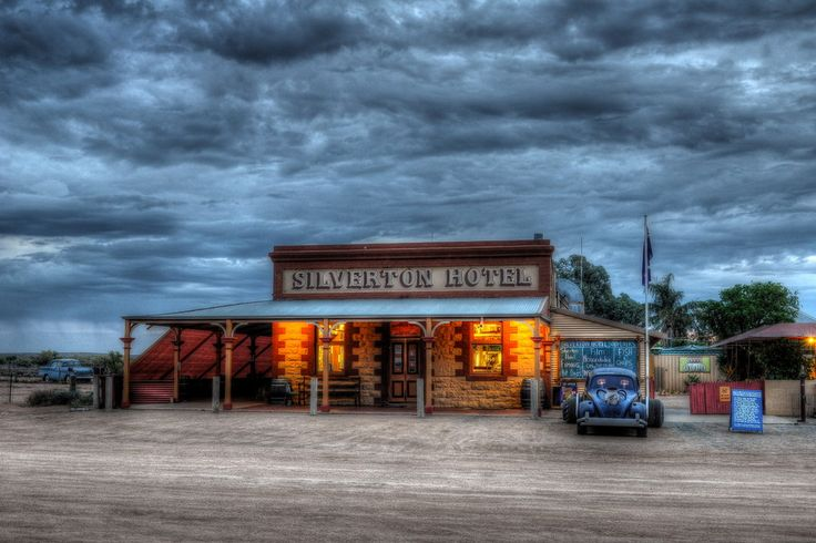 The Historic and Iconic outback Silverton Hotel in Silverton, New South Wales, Australia, photo credit Wilko