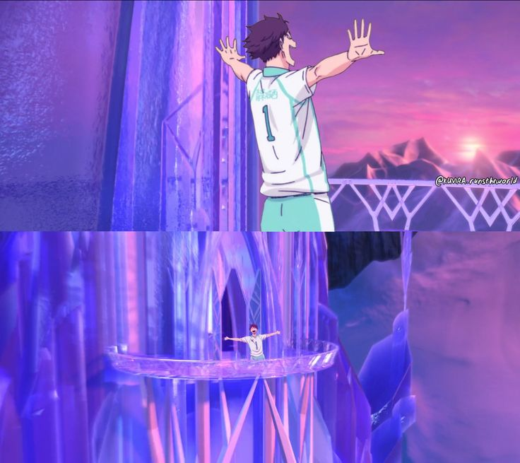 Image de anime, frozen, and funny , just noo .