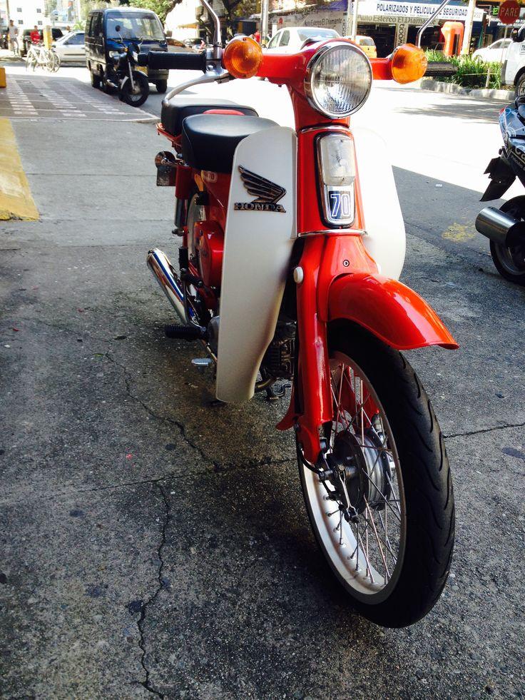 Honda c70 1993