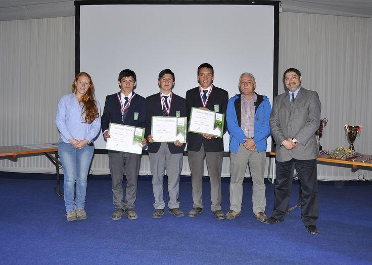 Cuarto lugar Olimpiadas Aproleche, Liceo Agrícola San Javier