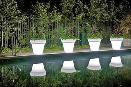 Crazy Glow-in-the-Dark Planters