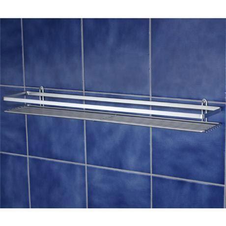 Satina Single Shower Caddy Shelf - Chrome - 56490