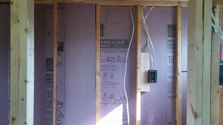 Day 43 - more insulation (bathroom)