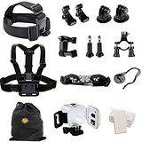 Christmas deals week  Biker Kit Premium Bundle Accessories for GoPro Hero 4 Session sale