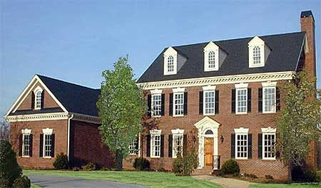 Plan W32452WP: Corner Lot, Photo Gallery, Traditional, Colonial House Plans & Home Designs