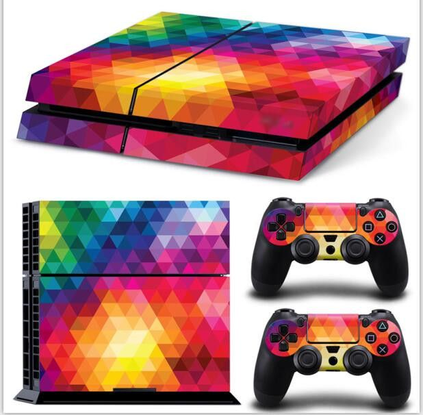 vinyl skin for ps4 game accessories skin sticker for ps4 controller PS4 Skin Sticker for Play Station 4 Game PS4