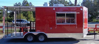 Concession-Trailer-8-5-039-x20-039-BBQ-Smoker-Catering-Event-Red
