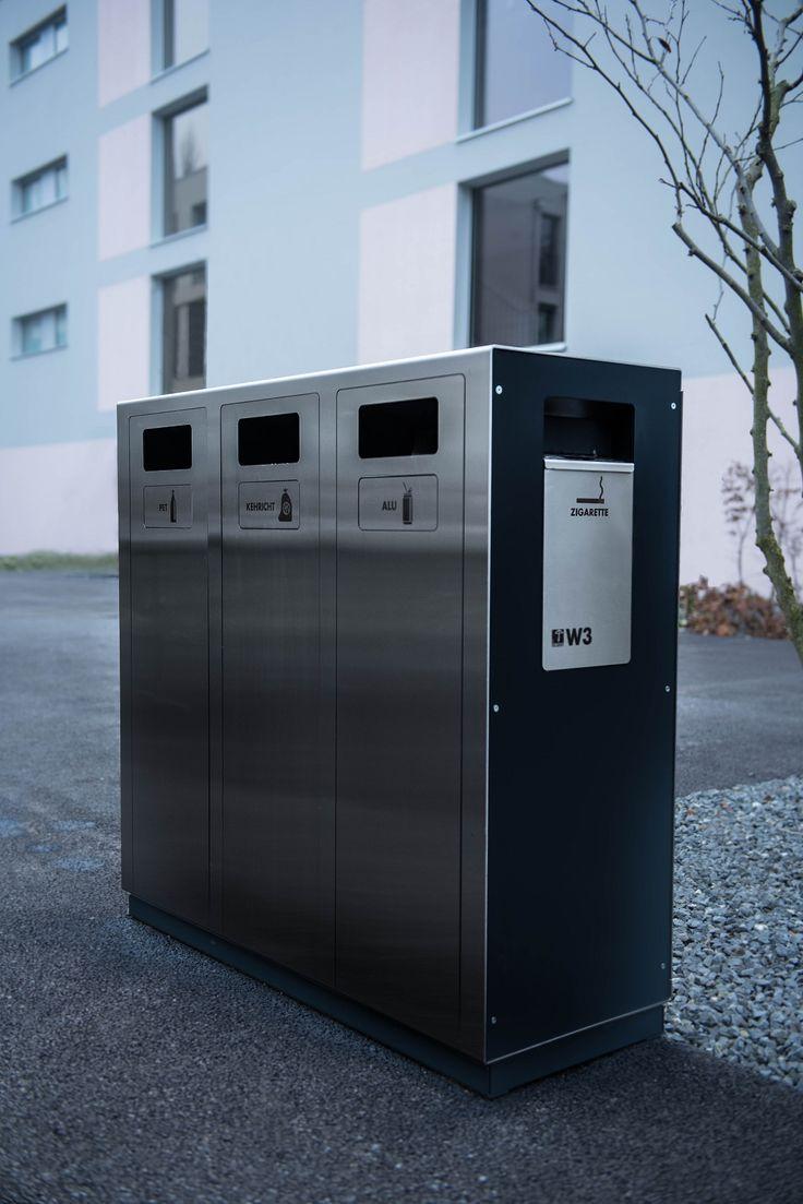 Recyclingstation W3 mit Ascher