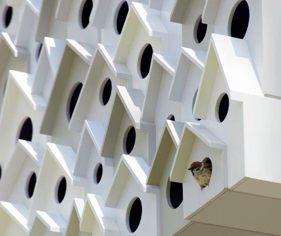 Bird-Apartment treehouse by Nendo (JP)