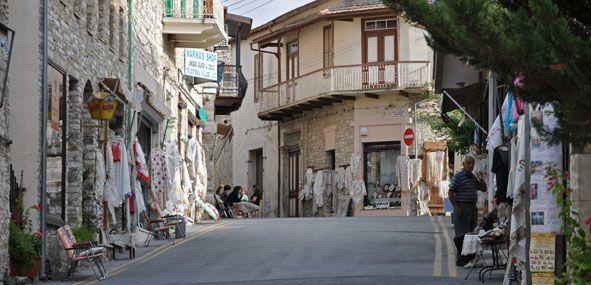 Lefkara Main Street
