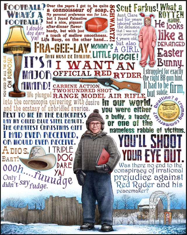 """Red Ryder"".... A Christmas Story  images via ChetArt"