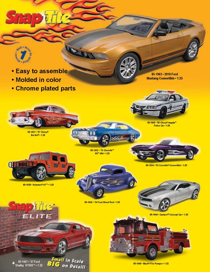 Page 4 - Revell Monogram Catalog 2012 - Plastic Kits - Model Kits - Scale Modeling