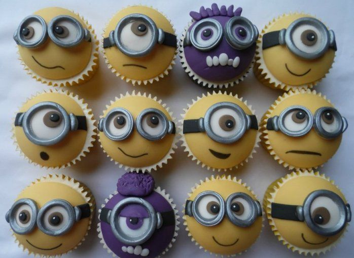 Minion cupcakes images
