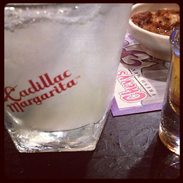 Cadillac Margarita: 1800 Reposado Tequila, Triple Sec