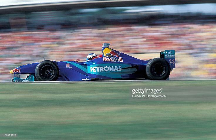 Jean Alesi, Sauber-Petronas, Hockenheim, Germany, 1998.