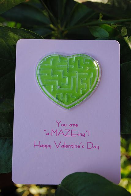 V-day cardsParty Favors, A Maze, Valentine'S Day, Valentine Treats, Class Valentine, Valentine Day Cards, Cute Ideas, Valentine Cards, Valentine Ideas