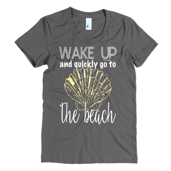 Wake Up and quickly go to the Beach #beanandjean  With a slightly scooped neckline. Ultra-comfy, feels like you've owned it for years the moment you put it on, and for years to come.