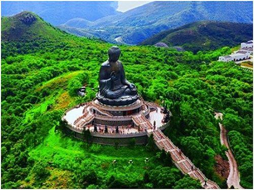 Cảm nhận vẻ đẹp khi du lịch hong kong từ trên cao