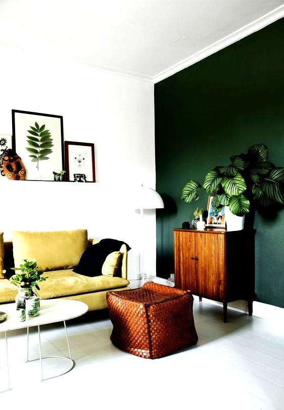 We absolutely love the look created in this living room ...
