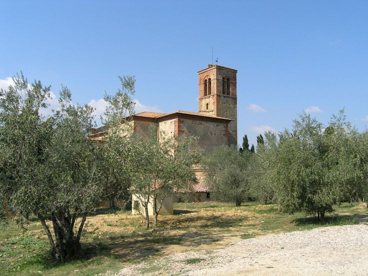 The Monastery of Sant' Anna in Camprena