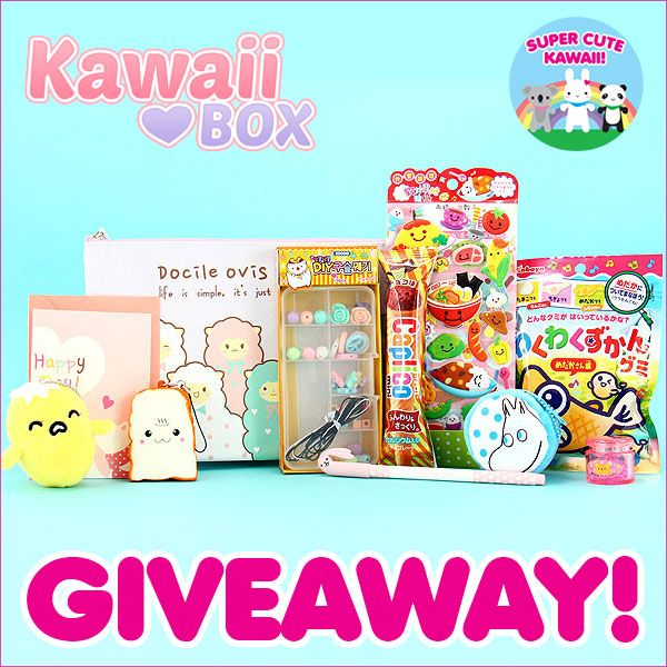 Kawaii Box Giveaway Checkout the give away at http://www.supercutekawaii.com/2015/11/kawaii-box-giveaway-3/#comment-80510