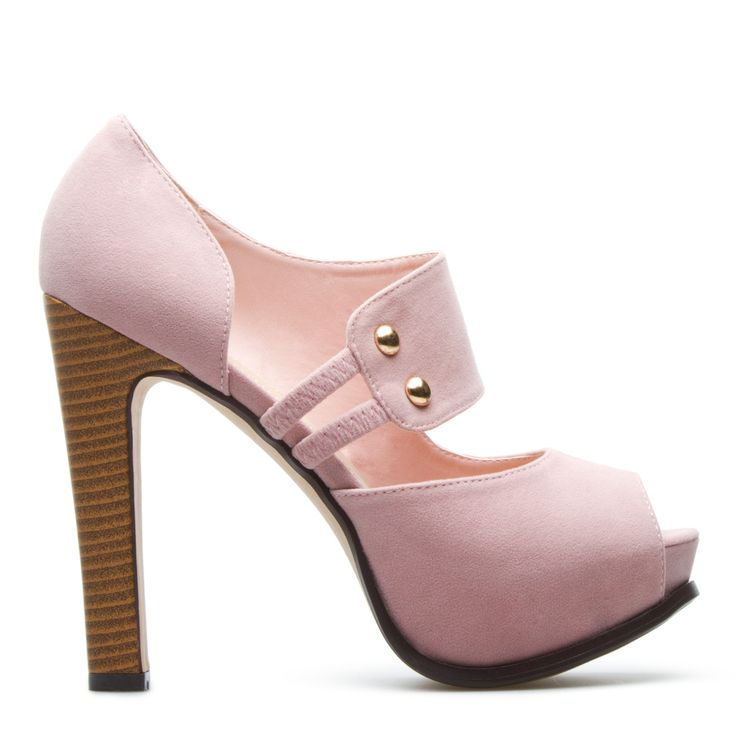 Ainsley peep toe