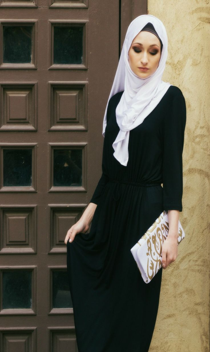 Calligraphy Scarves and Calligraphy Handbag #Hijabi #Hijab Style shop now www.JannahGifts.com Hijab only $18  Soft stretch jersey scarf with beautiful calligraphy design.