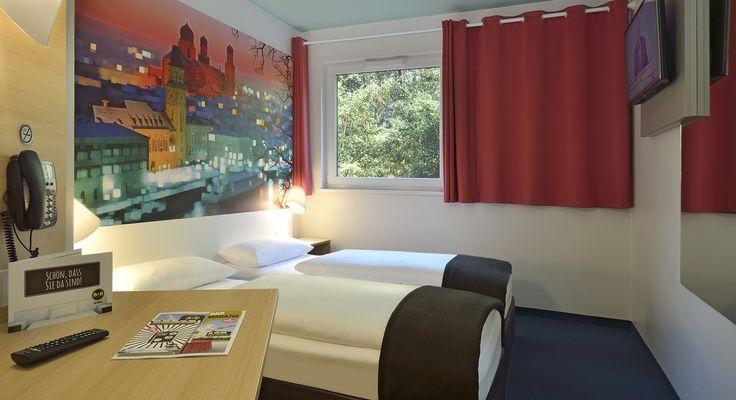 Zweibettzimmer im B&B Hotel Passau