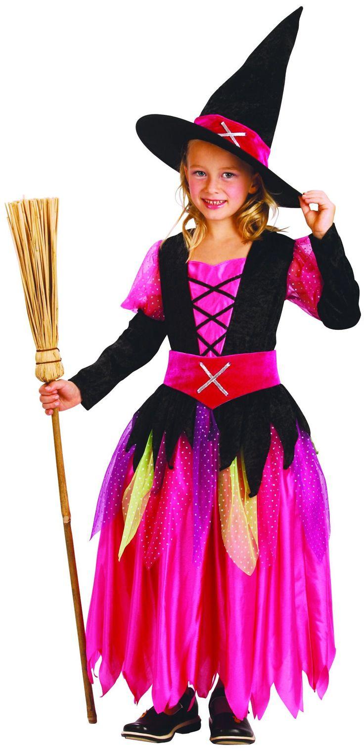 Déguisement sorcière fille Halloween : Deguise-toi, achat de Déguisements enfants