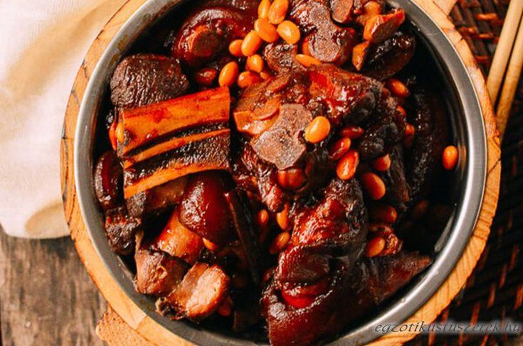 Csülök Kínai módra - fűszeresen, csípősen