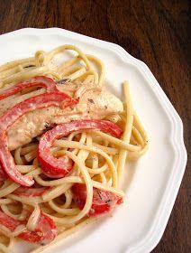 Ommy Noms: Cajun Chicken Pasta#Chicken Pasta Recipes