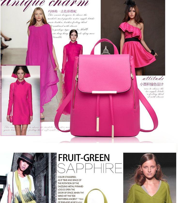 Backpack Style Designer Women's Girl's Preppy School Bag