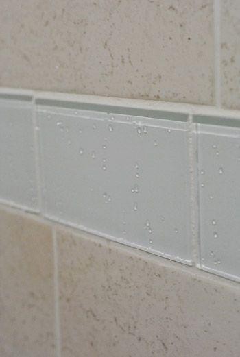 replacing old shower border tiles blog website lovin. Black Bedroom Furniture Sets. Home Design Ideas
