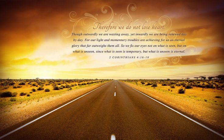 2 Corinthians 4 16 18 New International Version Niv