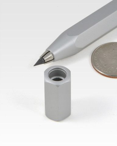 Worther Shorty Aluminum Mechanical Pencil Sharpener