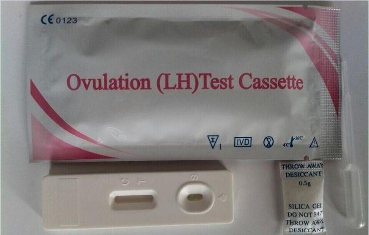 Test d'ovulation cassette